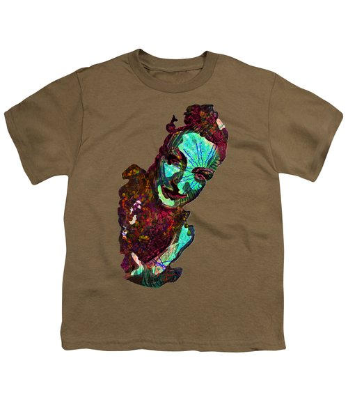 Blueberry Dripping Lean To Tease Youth T-Shirt by John Groves