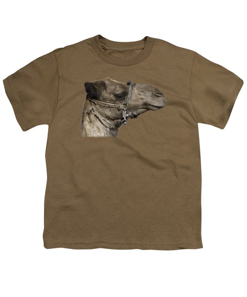 Camel's Head Youth T-Shirt by Roy Pedersen