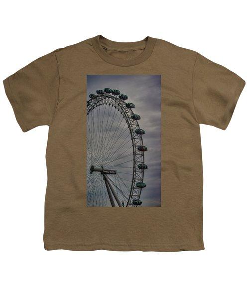 Coca Cola London Eye Youth T-Shirt by Martin Newman