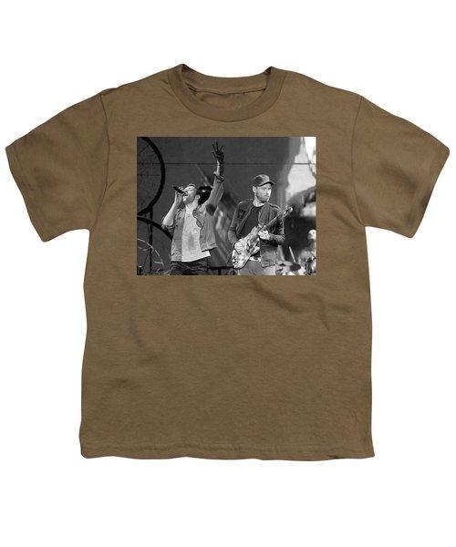 Coldplay 14 Youth T-Shirt by Rafa Rivas