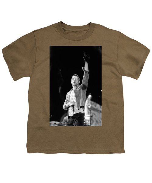 Coldplay 16 Youth T-Shirt by Rafa Rivas