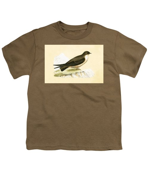 Crag Swallow Youth T-Shirt by English School