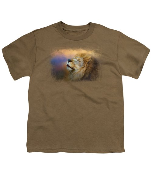 Do Lions Go To Heaven? Youth T-Shirt by Jai Johnson