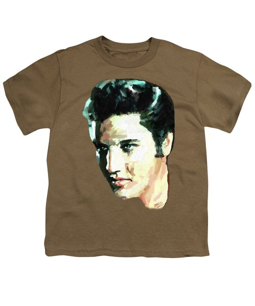 Elvis Youth T-Shirt by James Shepherd