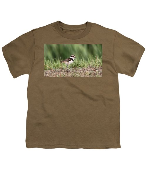 Killdeer - 24 Hours Old Youth T-Shirt by Travis Truelove
