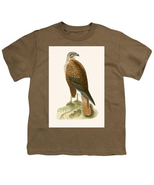 Long Legged Buzzard Youth T-Shirt by English School