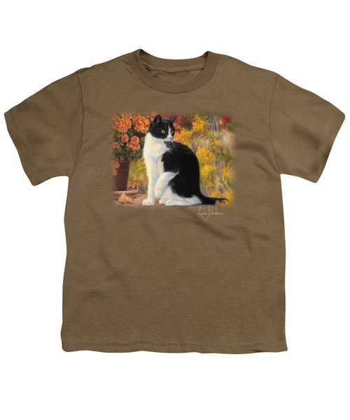 Looking Afar Youth T-Shirt by Lucie Bilodeau