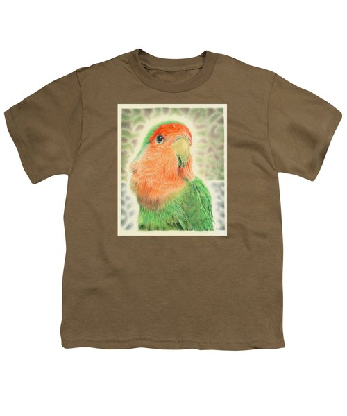 Lovebird Pilaf Youth T-Shirt by Remrov