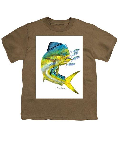 Mahi Digital Youth T-Shirt by Carey Chen