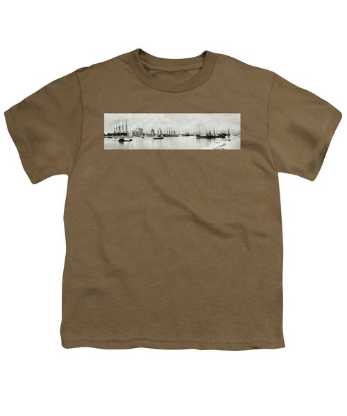Miami, Florida Circa 1925  Youth T-Shirt by Jon Neidert