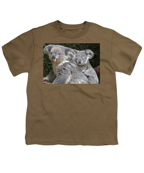 Mommy Hugs Youth T-Shirt by Jamie Pham