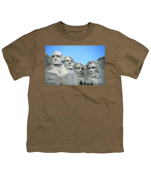 Mount Rushmore Youth T-Shirt by American School