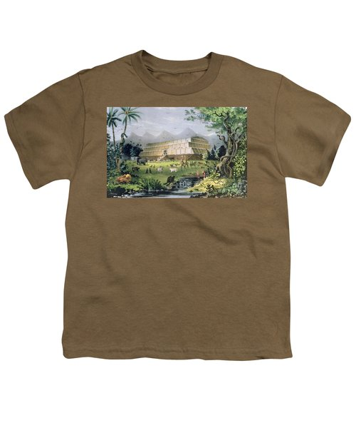 Noahs Ark Youth T-Shirt by Currier and Ives