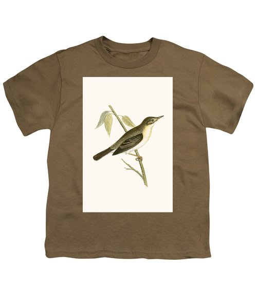 Olivaceous Warbler Youth T-Shirt by English School