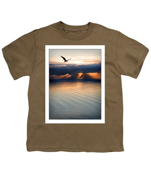 Ospreys Youth T-Shirt by Mal Bray