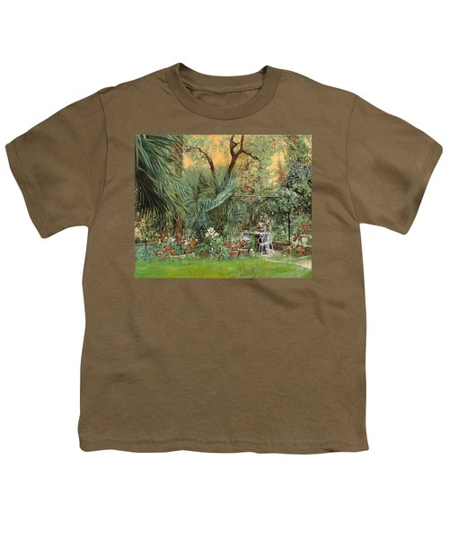 Our Little Garden Youth T-Shirt by Guido Borelli