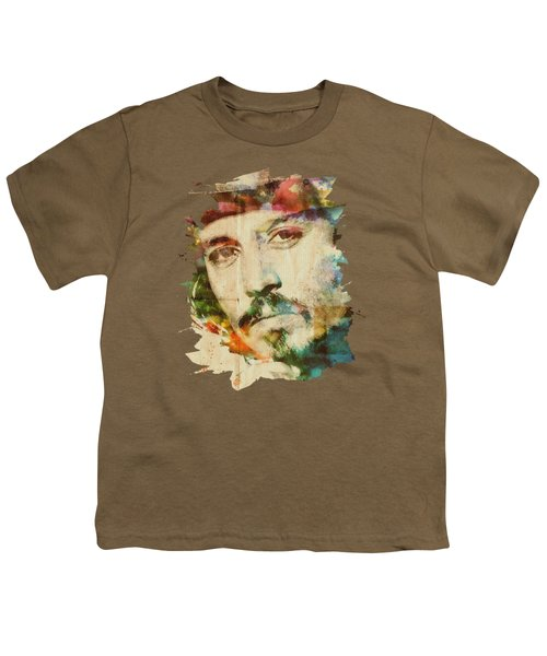 Portrait Of Johnny Youth T-Shirt by Maria Arango