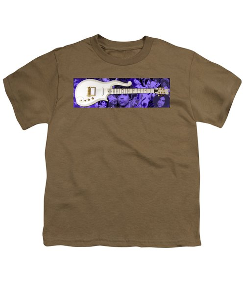 Purple Reign Youth T-Shirt by Daniel Rojas