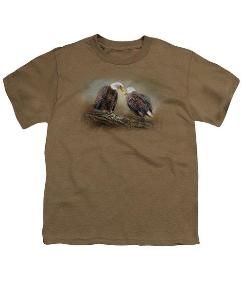 Quiet Conversation Youth T-Shirt by Jai Johnson