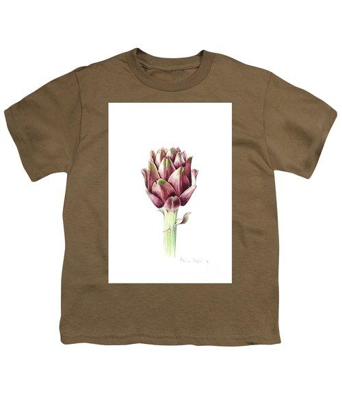 Sardinian Artichoke Youth T-Shirt by Alison Cooper