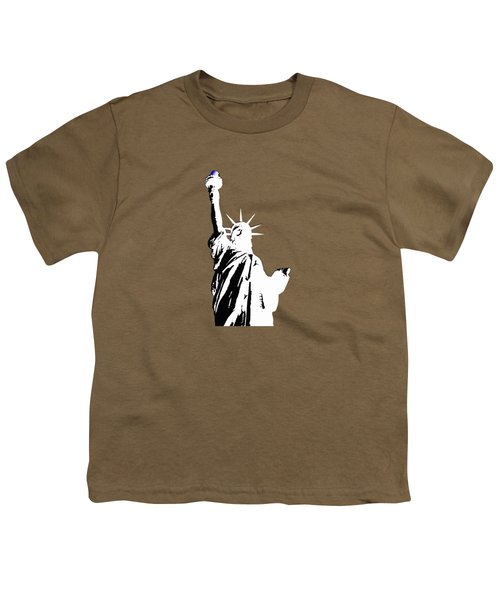 Statue Of Liberty #2 Youth T-Shirt by Frederick Holiday