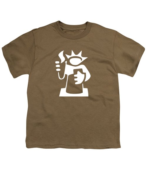 Statue Of Liberty Youth T-Shirt by Frederick Holiday