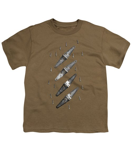 Strap Hinges And Screw Again Youth T-Shirt by YoPedro