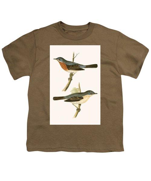 Sub Alpine Warbler Youth T-Shirt by English School