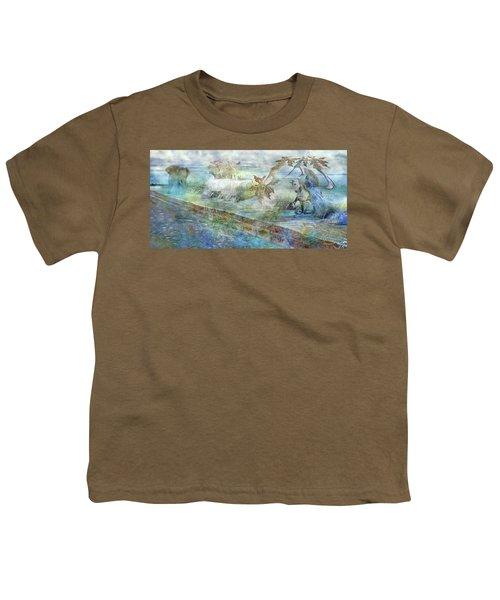 The Piano  Youth T-Shirt by Betsy Knapp