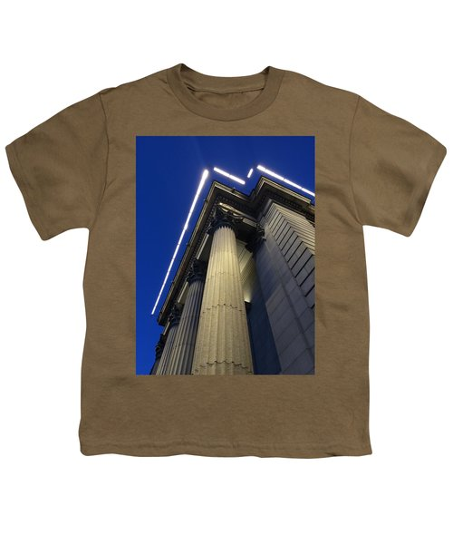 Union Square Savings Bank Youth T-Shirt by Sandy Taylor