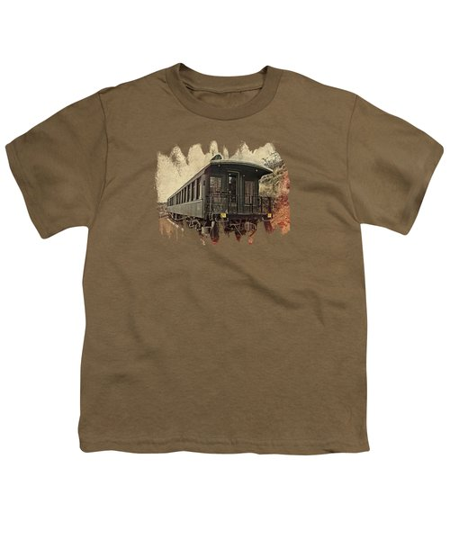 Virginia City Pullman Youth T-Shirt by Thom Zehrfeld