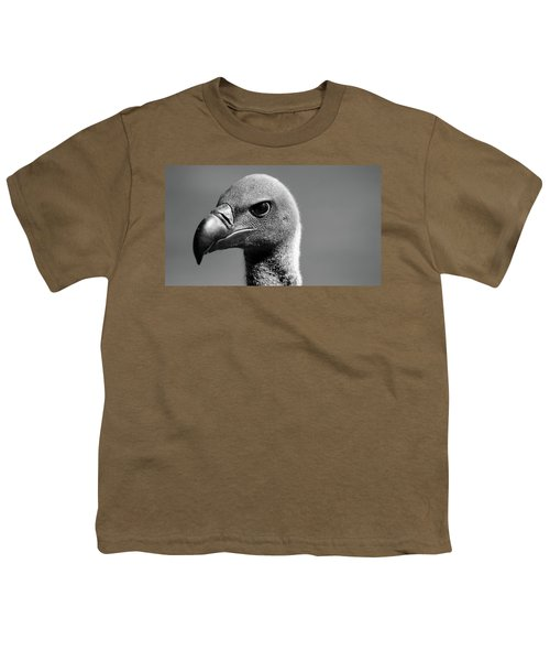 Vulture Eyes Youth T-Shirt by Martin Newman