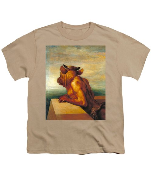 The Minotaur Youth T-Shirt by George Frederic Watts
