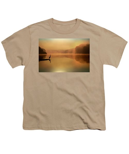 Beside Still Waters Youth T-Shirt by Rob Blair