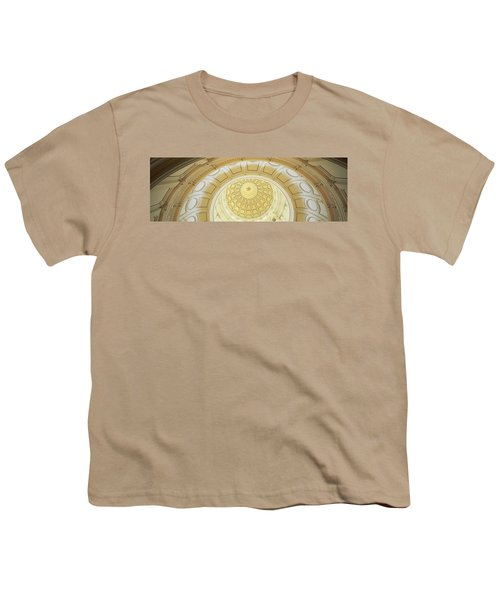 Ceiling Of The Dome Of The Texas State Youth T-Shirt by Panoramic Images
