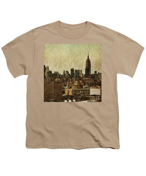Empire Stories Youth T-Shirt by Andrew Paranavitana