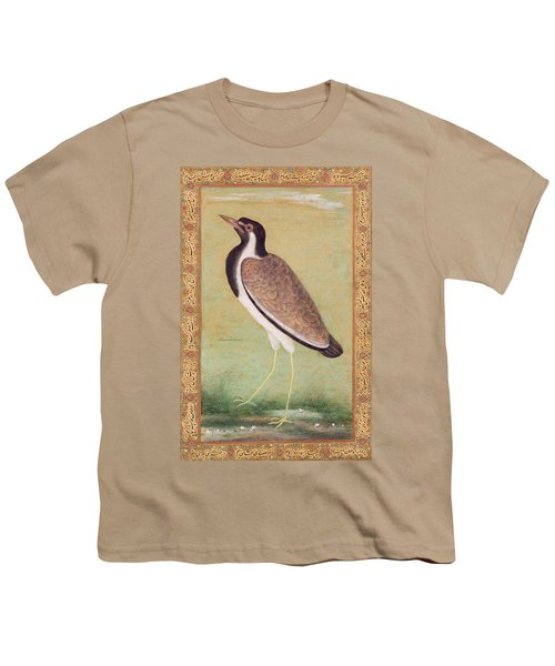 Indian Lapwing Youth T-Shirt by Mansur