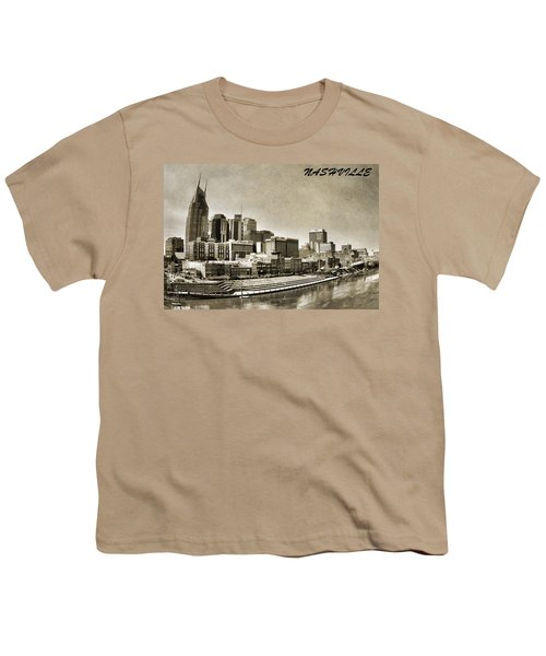 Nashville Tennessee Youth T-Shirt by Dan Sproul