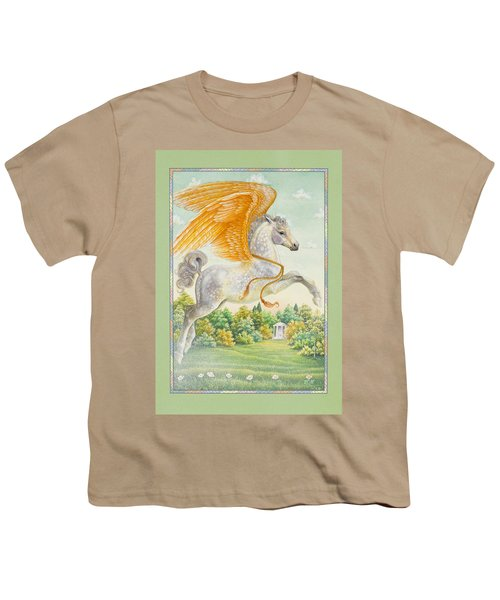 Pegasus Youth T-Shirt by Lynn Bywaters