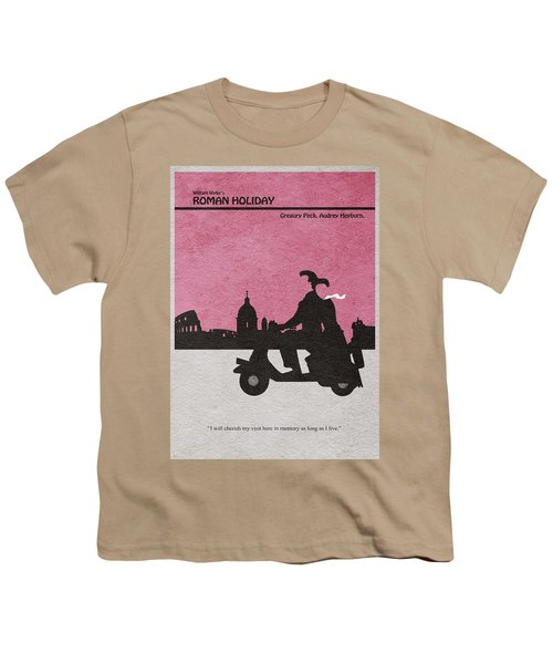 Roman Holiday Youth T-Shirt by Ayse Deniz