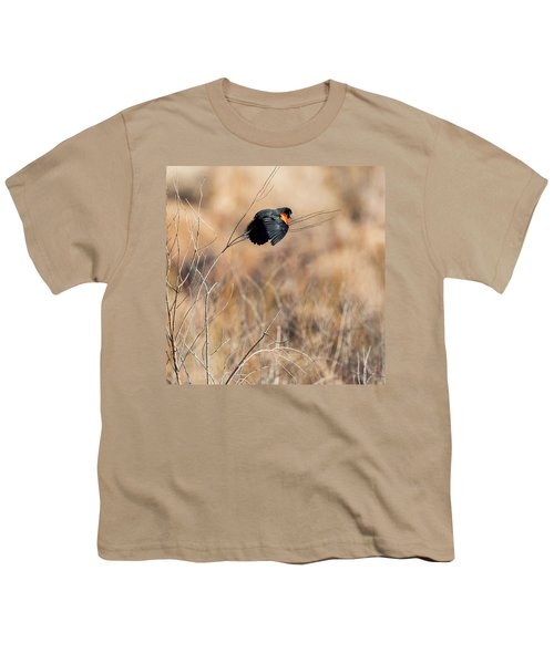Springtime Song Square Youth T-Shirt by Bill Wakeley