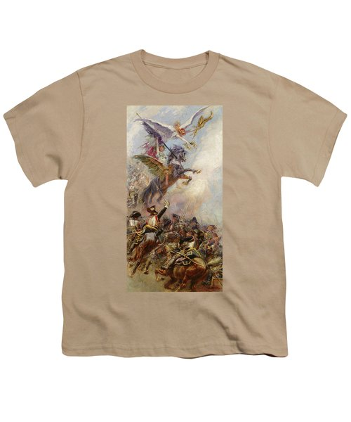 Victory Youth T-Shirt by Jean-Baptiste Edouard Detaille