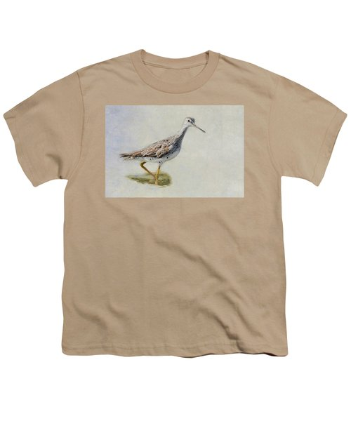 Yellowlegs Youth T-Shirt by Bill Wakeley