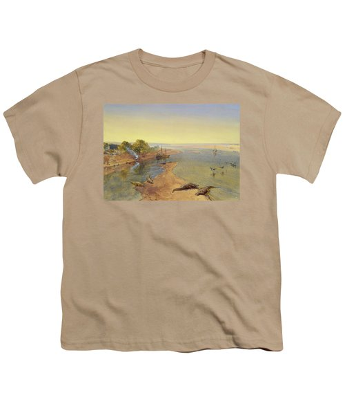 The Ganges Youth T-Shirt by William Crimea Simpson