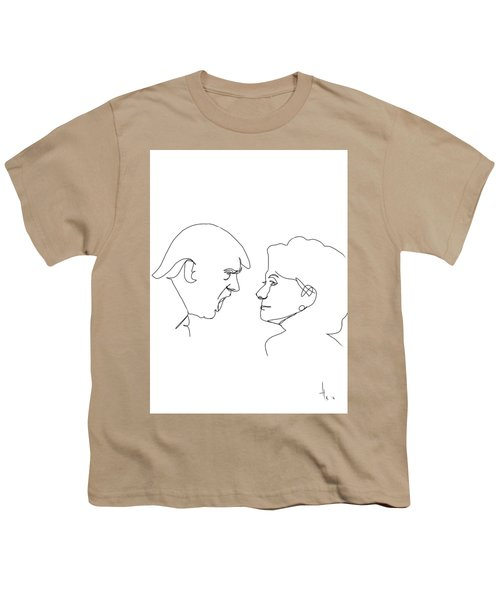 2016 Election Youth T-Shirt by Harold Belarmino
