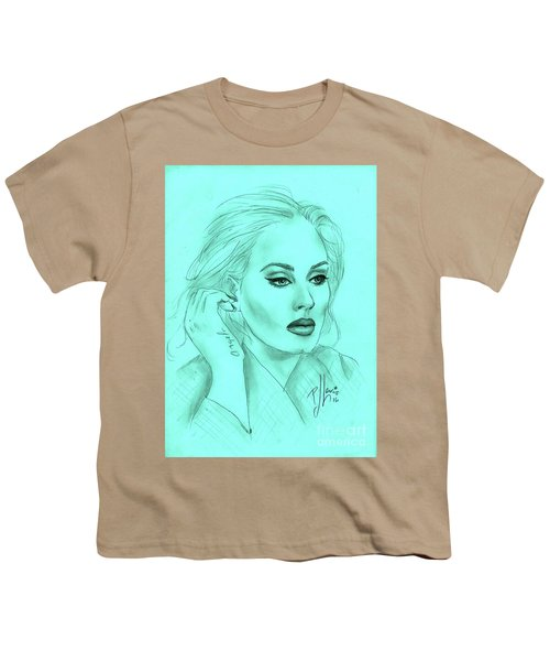 Adele Youth T-Shirt by P J Lewis
