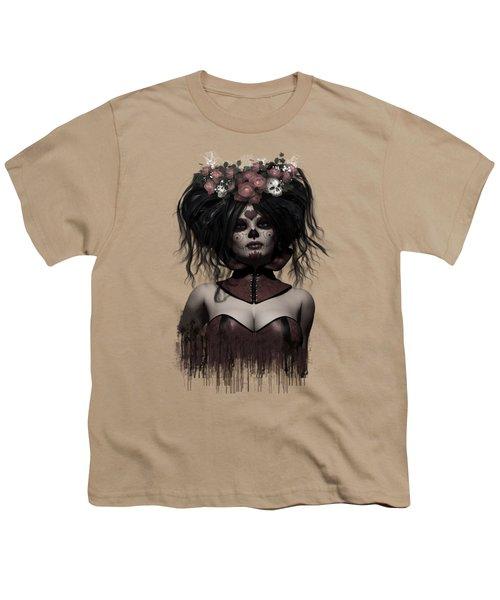La Catrina Youth T-Shirt by Shanina Conway