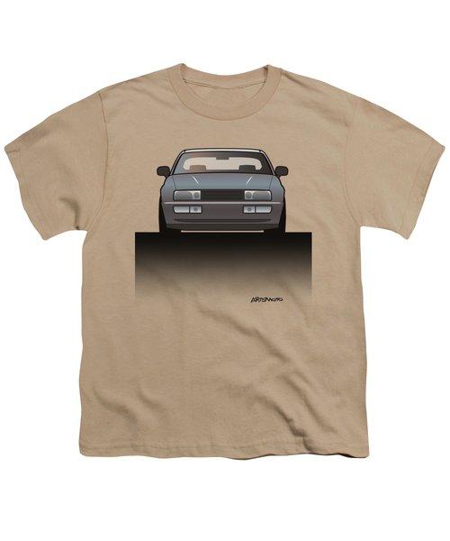 Modern Euro Icons Series Vw Corrado Vr6 Youth T-Shirt by Monkey Crisis On Mars