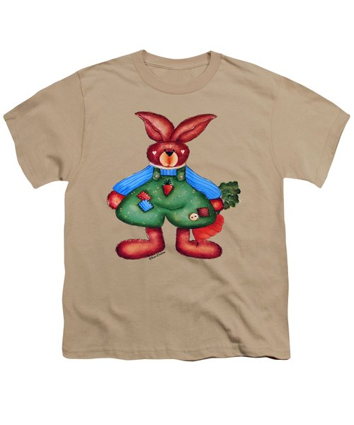 B Is 4bunny Youth T-Shirt by Tami Dalton