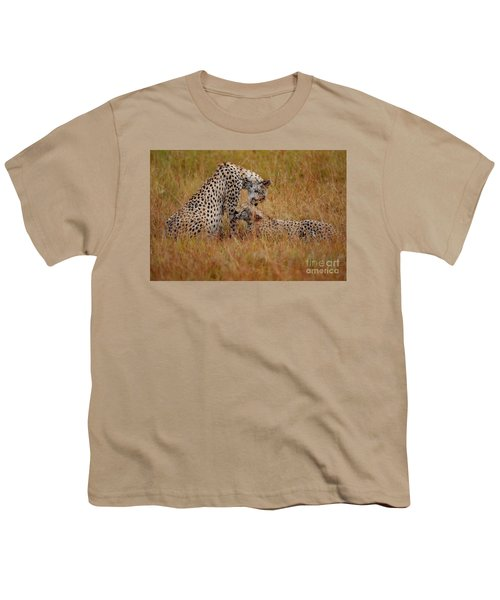 Best Of Friends Youth T-Shirt by Stephen Smith